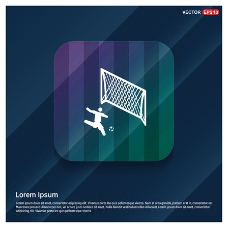 Football Player Icon - Free vector icon
