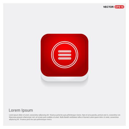 menu icon Banque d'images - 116472690
