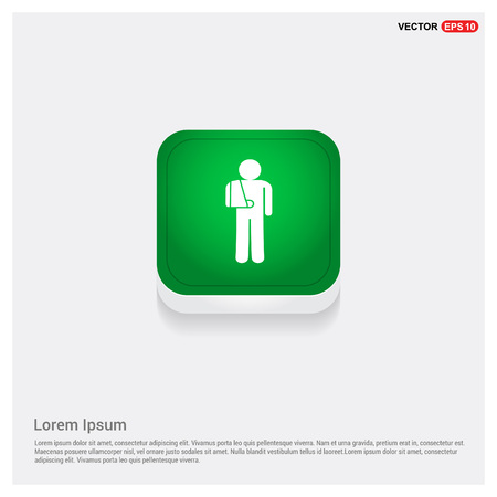 patient, icon Stock Vector - 118349824
