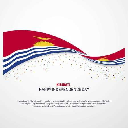 Kiribati Happy independence day Background