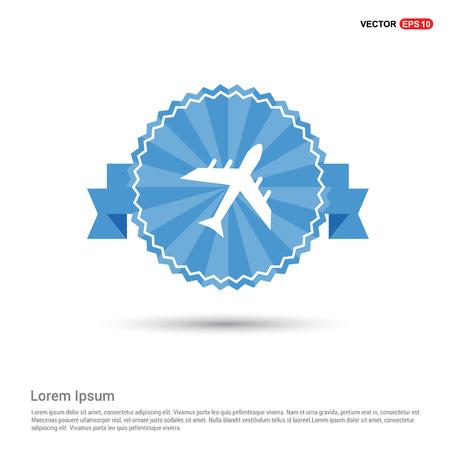 Airplane icon Illusztráció