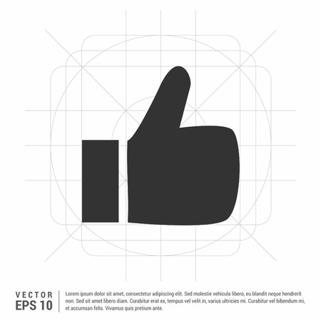 LIKE icon Banque d'images - 118352364