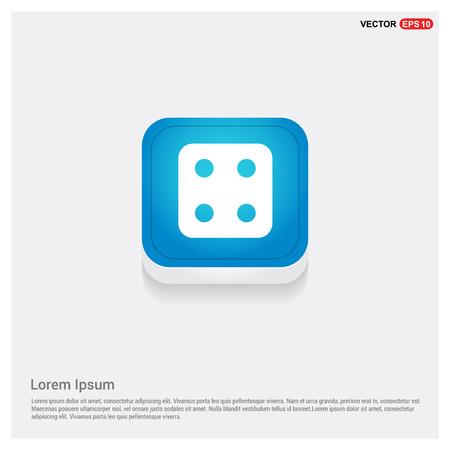 Icono de cubo de dados