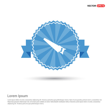 Saw Icon Vector Illustration