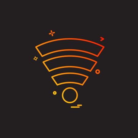 Computer Technology icon design vector