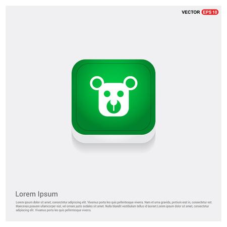 Teddy bear icon Stock Vector - 118353416