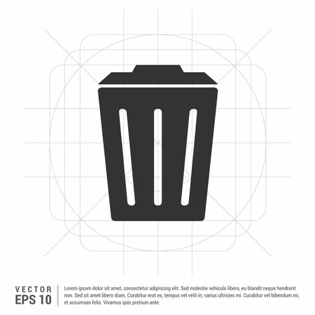Delete Icon Illustration