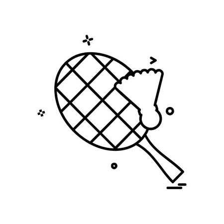 Tennis icon design vector