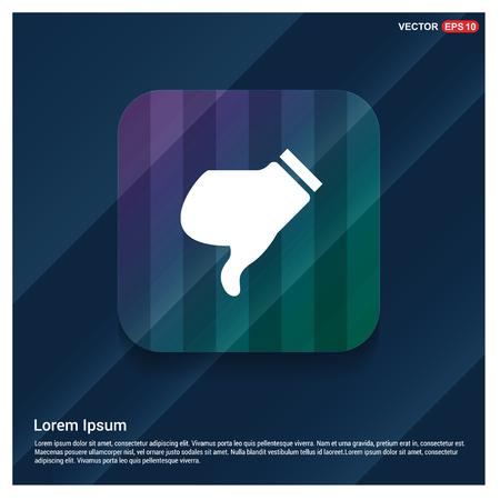 dislike icon - Free vector icon