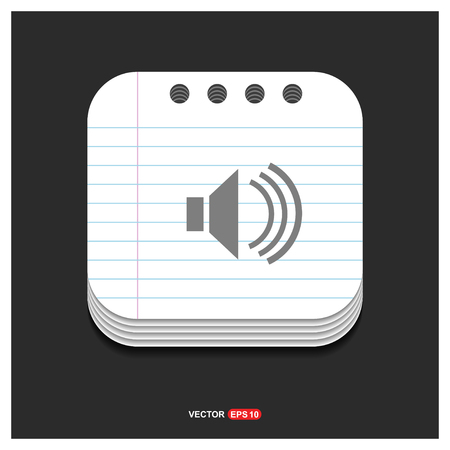 speaker icon - Free vector icon