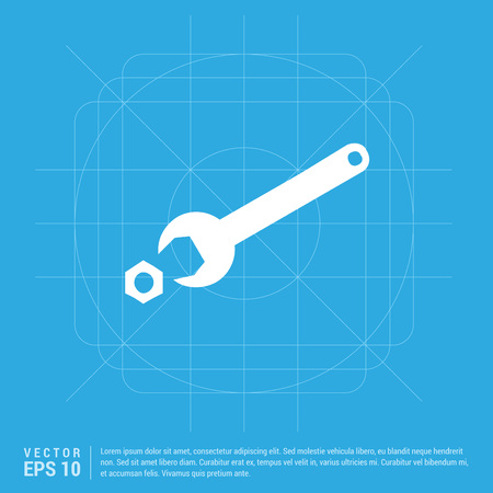 Wrench and Bolt Icon