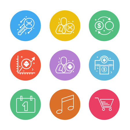 celender , music  , cart ,   crypto currency , money,  crypto , currency , icons , lock , unlock , graph , rate ,icon, vector, design,  flat,  collection, style, creative,  icons