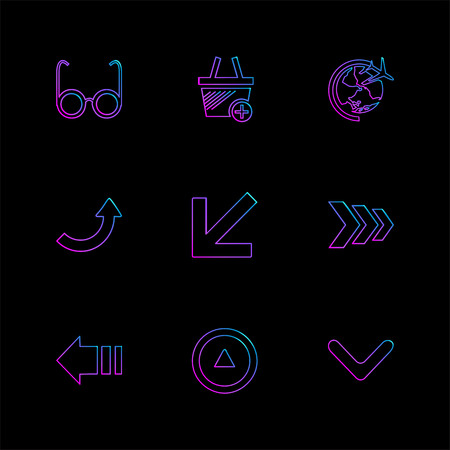 arrows , directions , pointer , arrow , user interface , arrow , reset  , left , right , down , up , download , upload , icon, vector, design,  flat,  collection, style, creative,  icons Illustration