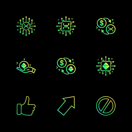 like , up , not allowed , crypto currency , money,  crypto , currency , icons , lock , unlock , graph , rate ,icon, vector, design,  flat,  collection, style, creative,  icons  イラスト・ベクター素材