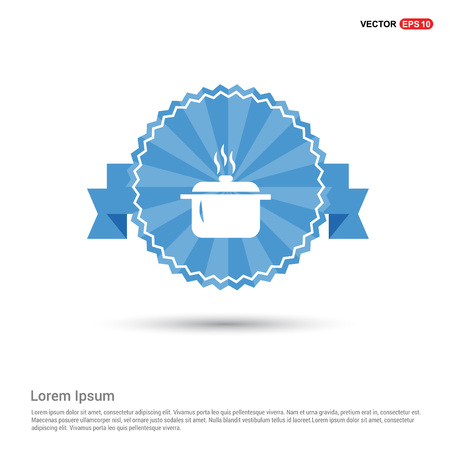 Cooking pot icon  イラスト・ベクター素材
