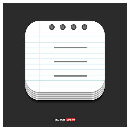List Menu Icon - Free vector icon