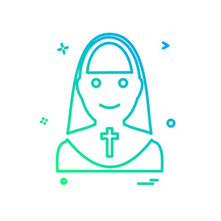 Sister icon design vector Illustration