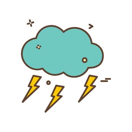 Weather icon design vector