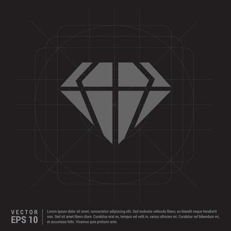 Diamond icon Stok Fotoğraf - 118362327
