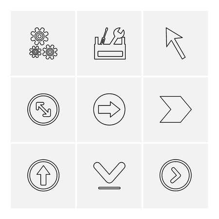 setting , gear , tools , pointer , next , arrows , directions , left , right , pointer , download , upload , up , down , play , pause , foword , rewind , icon, vector, design,  flat,  collection, style, creative,  icons