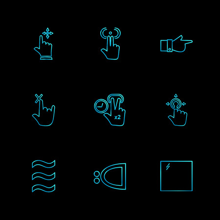 hands , pointer , arrows , directions , signs , ui , user  interface , technology , code , programming , icon, vector, design,  flat,  collection, style, creative,  icons