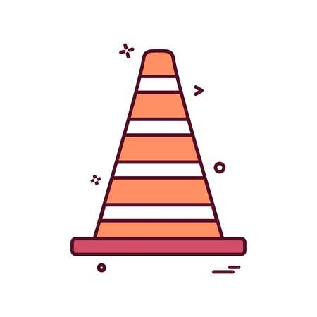 vlc road blocker vector
