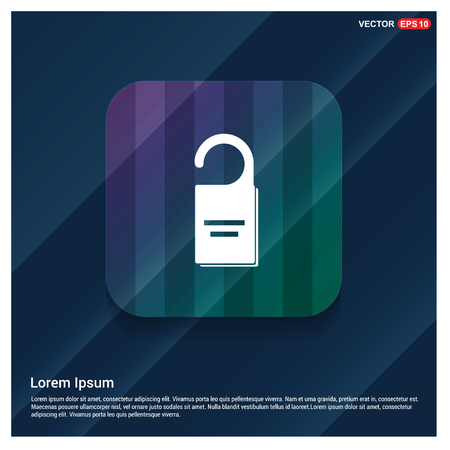 lock icon - Free vector icon Illustration