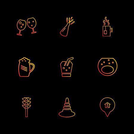 jug , beer , signal , multimedia , camera , user interface  , technology , summer , drink ,  food , board , drinks , tv , bottle , telephone , internet , zoom in , zoom out , icon, vector, design,  flat,  collection, style, creative,  icons Illustration