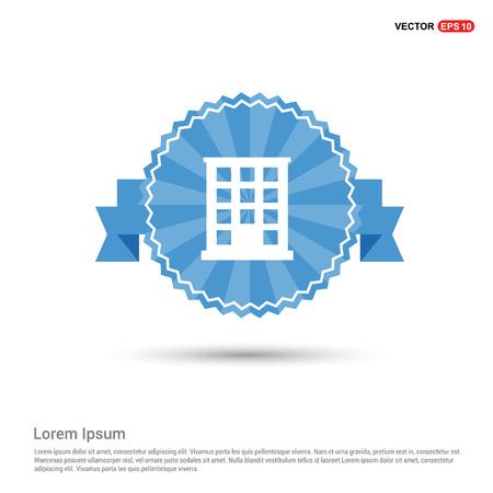 School Building Icon Çizim