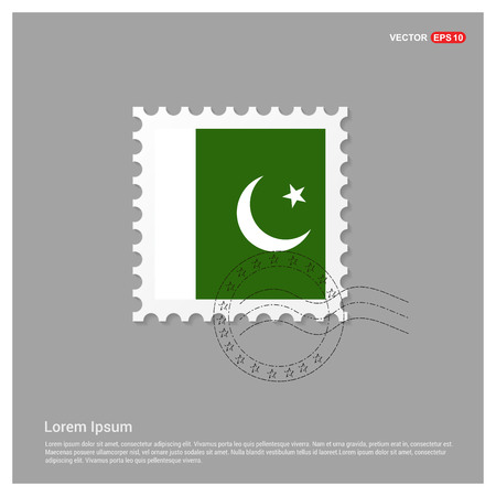 Pakistan flags design vector