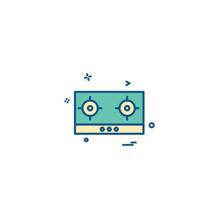 Casette icon design vector
