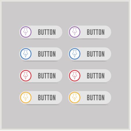 Pen nib icon - Free vector icon Illustration