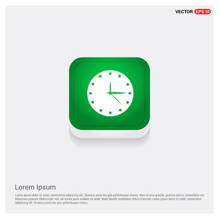 Clock Icon. Time icon Stock Illustratie