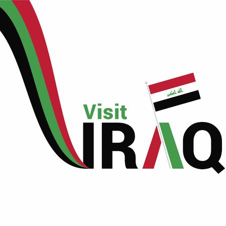 Iraq Independence day design vector Stock Illustratie