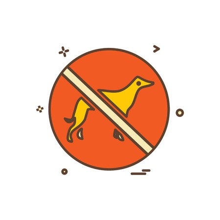 Animal killing icon design vector