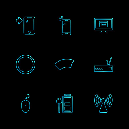 network computer icons