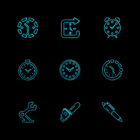 timing icons