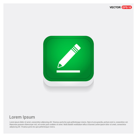 Pencil icon Vettoriali