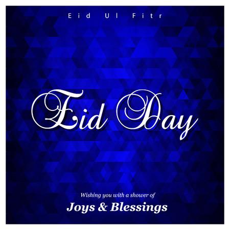 Eid Mubarak typogrpahic design vector 矢量图像