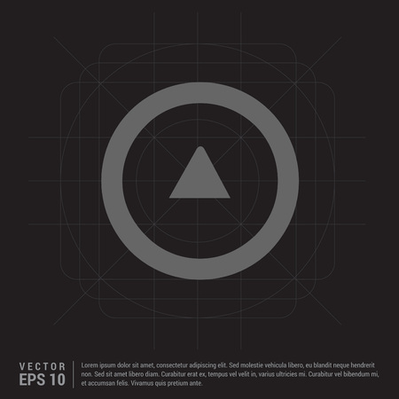 Upper Arrow Icon 矢量图像