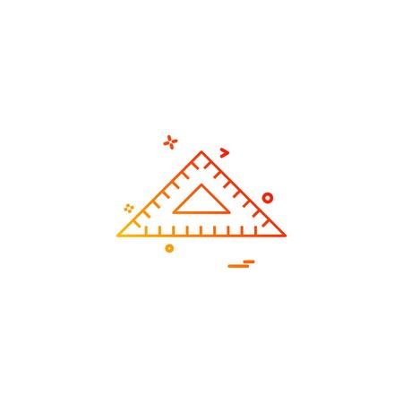 Geometry icon design vector