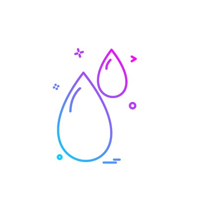 water icon design vector