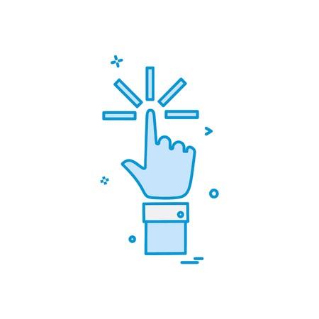 Hands icon design vector