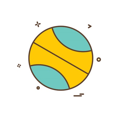 ball icon vector design