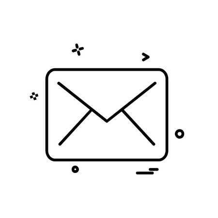 Letter icon design vector Иллюстрация