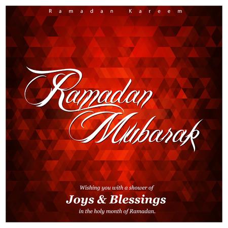 Ramadan Kareem creative design vector Stock Illustratie