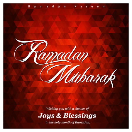 Ramadan Kareem creative design vector  イラスト・ベクター素材