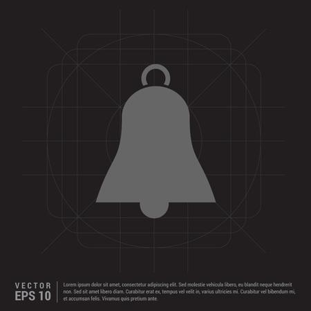 Bell Icon Stock Illustratie