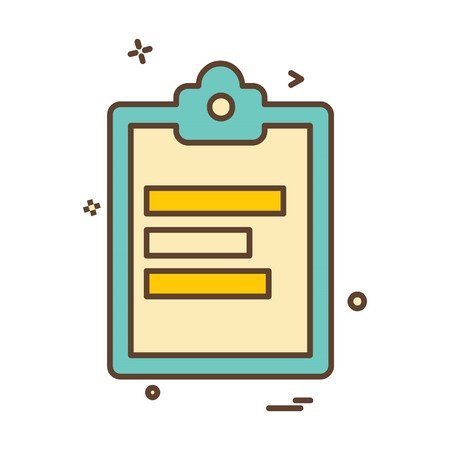 Study icon design vector