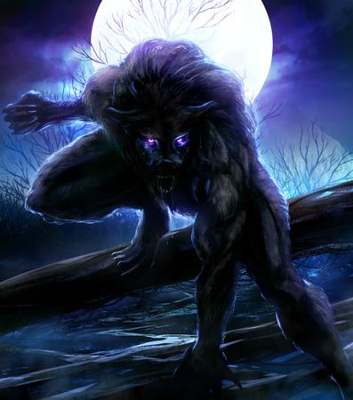 Werewolf Reklamní fotografie - 27566315